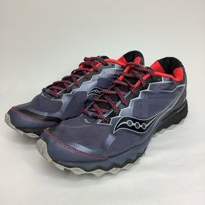 SAUCONY peregrine 6 trail running shoes size 11